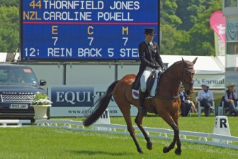 Caroline Powell (NZL) on Thornfield Jones