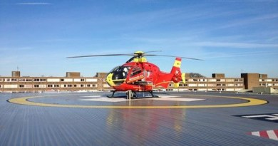 A horse rider has received three airlifts to hospital following equine mishaps, according to the West Midlands Ambulance Service. Photo: West Midlands Ambulance Service
