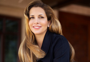 Princess Haya: Her departure in December has set up an intriguing contest for the presidency.