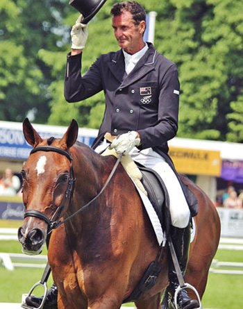 Mark Todd and Campino are in fourth place in the CCI3*.