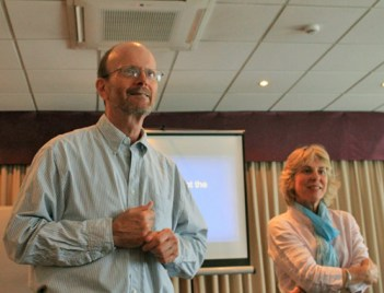 Michael Bowling and Caroline Sussex