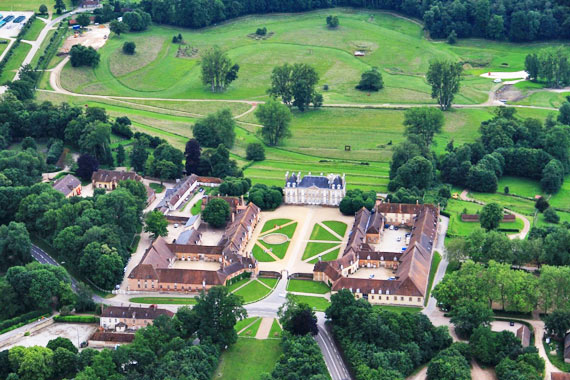 Haras du Pin, venue for the dressage and cross-country phases of eventing during the Alltech FEI World Equestrian Games.