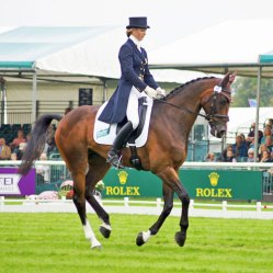 Georgie Spence (GBR) and Wii Linbo