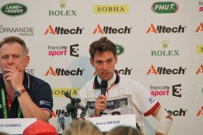 Harry Meade at the Press conference.