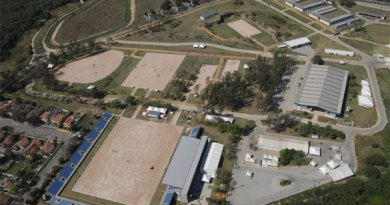 Brazil's National Equestrian Centre, site of the 2016 Olympic equestrian events, at the Deodoro Cluster in Rio.