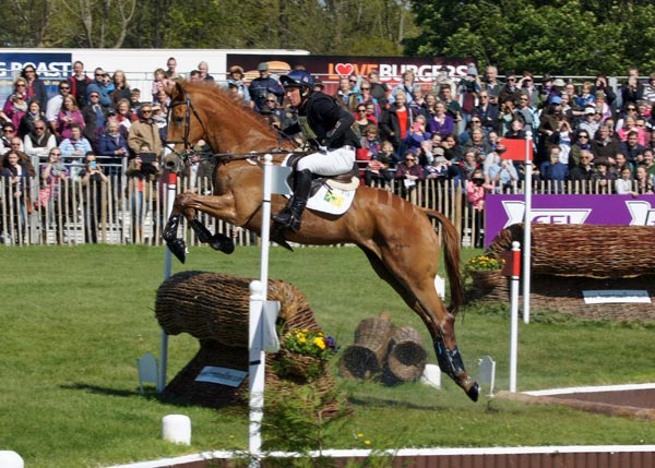 Oliver Townend and Armada keep their third place after the cross-country.