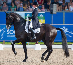 Ireland is represented by individual rider Judy Reynolds and Vancouver K.