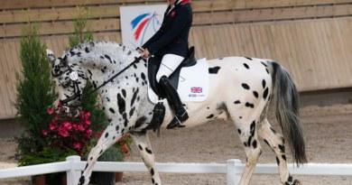 Grade Ia silver medalist Anne Dunham (GBR) and LJT Lucas Normark.