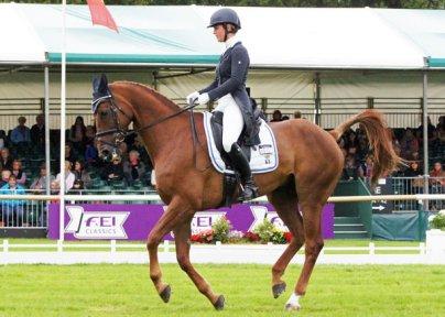 Emily Llewellyn (GBR) and Greenlawn Sky High