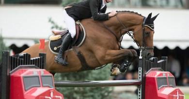 Scott Brash and Hello Sanctos. © Rolex Grand Slam of Show Jumping/Kit Houghton