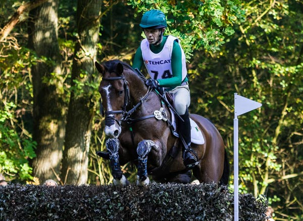 Winning Irish team member Jonty Evans finished eighth overall on Cooley Rorke's Drift