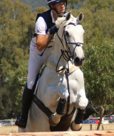 New Zealand's Clarke Johnstone and Balmoral Sensation jumped up to third from fifth.
