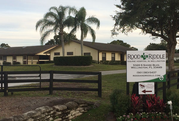 Rood & Riddle has bought an equine hospital and adjacent property on South Shore Blvd. formerly used by Wellington Equine Associates.