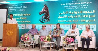 The conference discussed key elements of endurance, including the success of the so-called Bou Thieb rules. Photo: Moustafa Shaaban