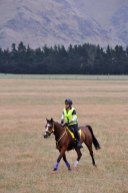 Louise Holmes and Silands Dainty Dish, fifth in the 160km.