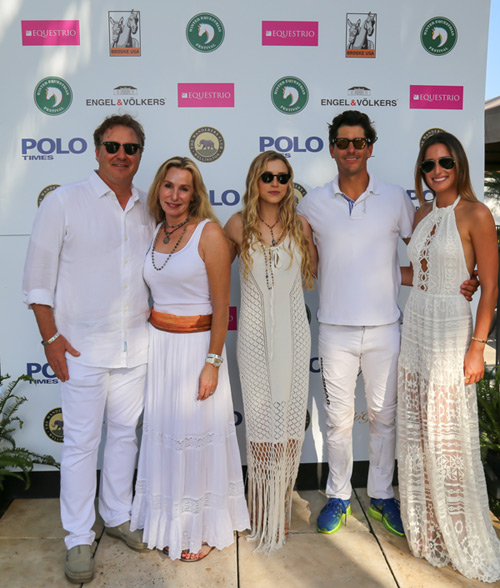 Mark Bellissimo, Katherine Bellissimo, Paige Bellissimo, Nic Roldan and Jessica Springsteen.