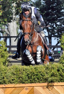 Mark Todd and Grass Valley at the World Equestrian Games in Kentucky in 2010.