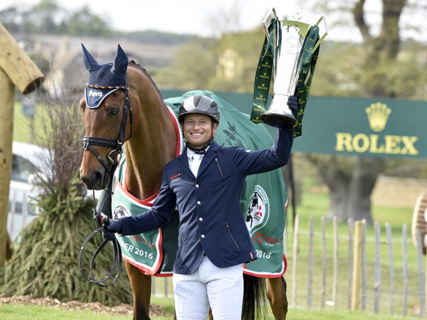Michael Jung, withBadminton winnerLa Biosthetique Sam FBW, isonly the second rider to win the Rolex Grand Slam.