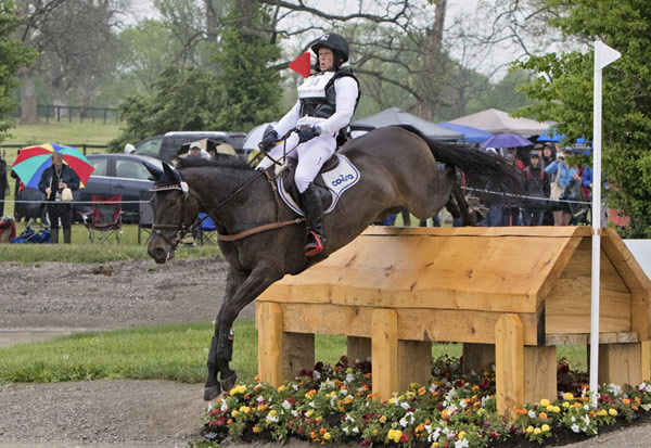 Michael Jung and FischerRocana FST on the cross-country at the Rolex Kentucky Three-Day Event, third leg of the FEI Classics 2015/2016.