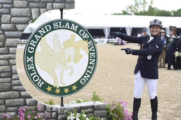 Michael Jung is one win away from the prestigious Rolex Grand Slam of Eventing.