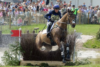 Zara Tindall (GBR) on High Kingdom