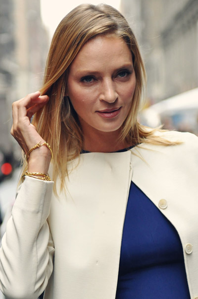 Uma Thurman in New York in 2011. Photo: Jiyang Chen CC BY-SA 3.0 via Wikimedia Commons