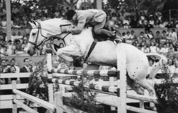 Harry deLeyer and Snowman in their heyday.