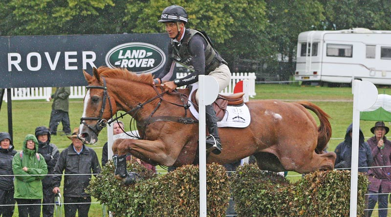 Andrew Nicholson and Nereo on the cross-country at Burghley.