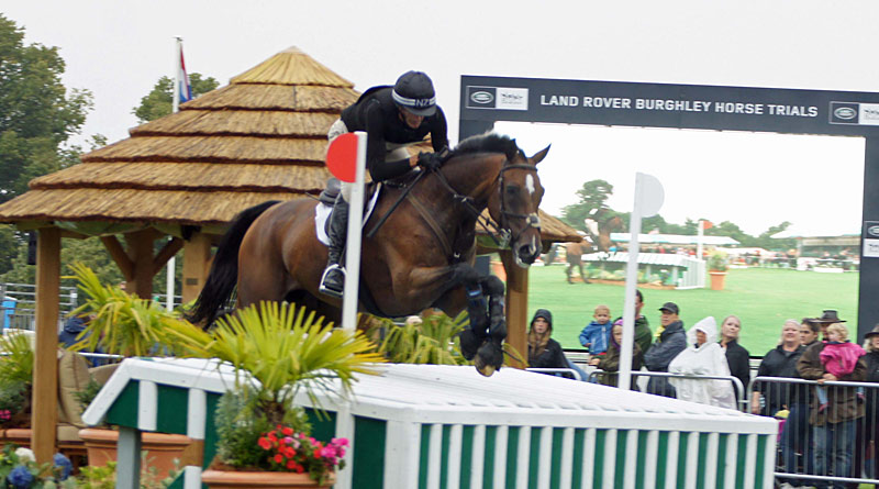 Mark Todd and NZB Campino at Burghley in 2016.