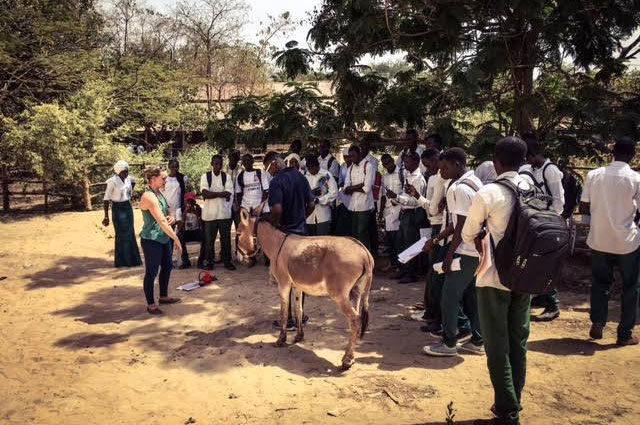 The inaugural course at the Makasutu Training Centre was attended by 68 students, and conducted by XL Vets and three GHDT veterinarians.