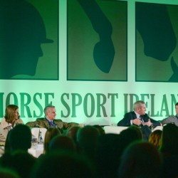Two panel discussions were held at Horse Sport Ireland's International Marketing Symposium last week. © Eóin Noonan/Sportsfile