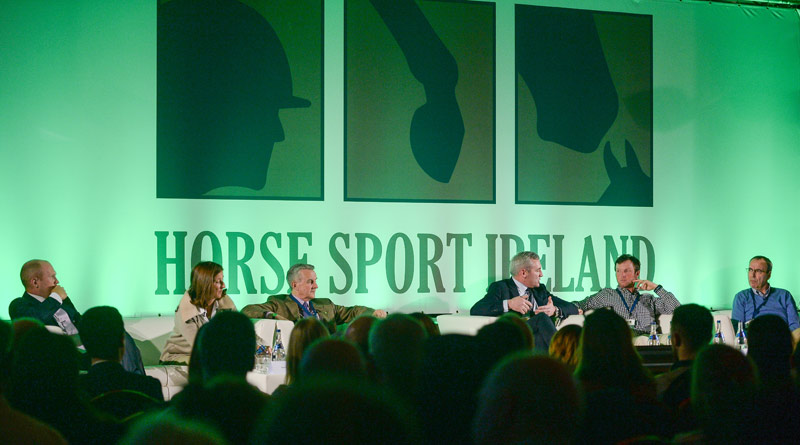 Two panel discussions were held at Horse Sport Ireland's International Marketing Symposium last week.
