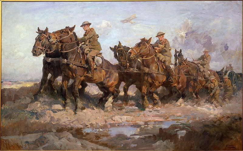 "Harold Power, ""Bringing Up the Guns""."