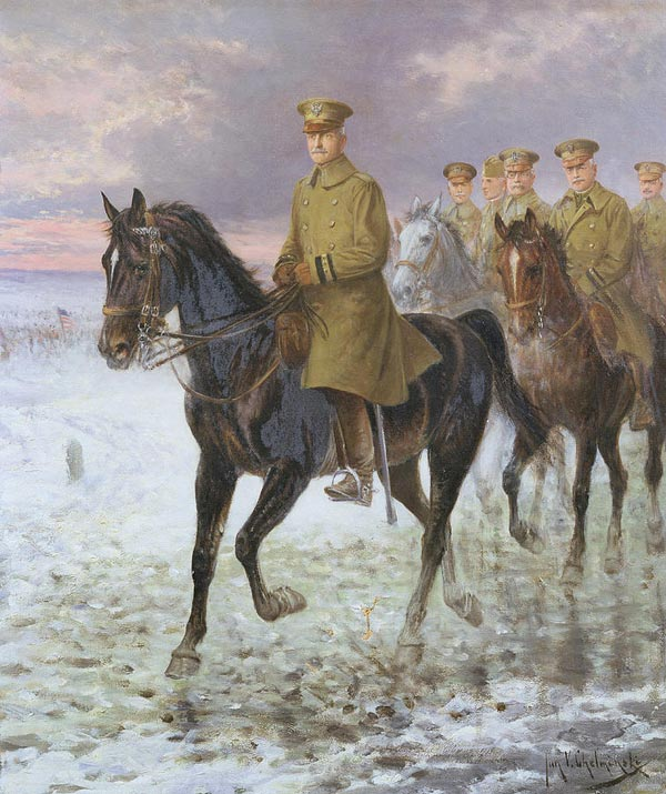 Jan Van Chelminski: General Pershing.