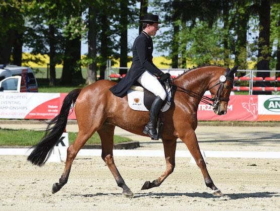 Kai Rüder. ©Leszek Wójcik/Strzegom Horse Trials