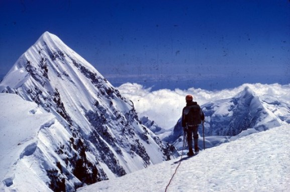 Climb every mountain: McIlwraith has climbed peaks in New Zealand, South America, and Europe.