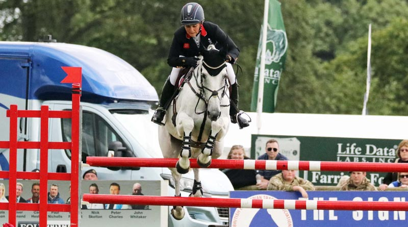 2nd in the CCI3*: Gemma Tattersall and Quicklook V.
