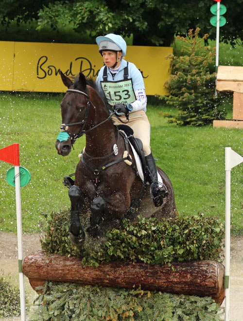 CIC3* winners Izzy Taylor and Trevidden.