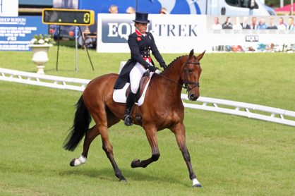 Pippa Funnell and Billy Walk On.