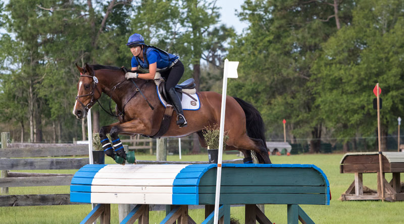 All Aboard and Audrea Dyer at the Ocala International in Ocala, Florida.