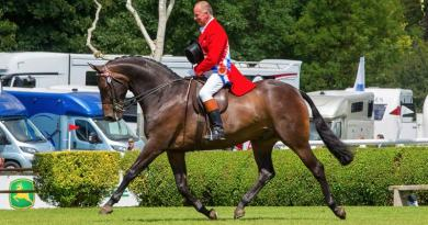 Allister Hood won his seventh British Horse Society Supreme Ridden Horse Championship title, riding Diamonds are Forever to victory at Hickstead.