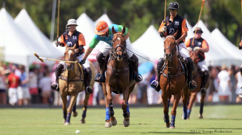 CEO and Founder of The Gay Polo League, Chip McKenney, during the 2017 Tournament.
