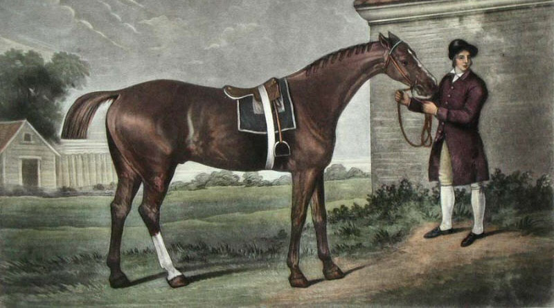Eclipse, from a painting by George Stubbs.