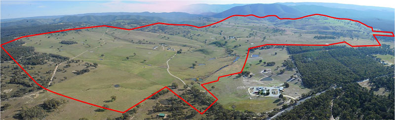 """""""Bandanora"""" at Capertee north of Lithgow, is now owned by Racing NSW."""