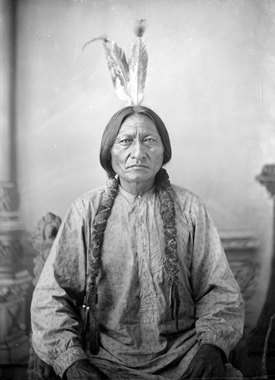 Sitting Bull, about 1883
