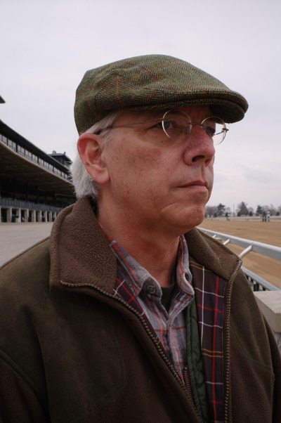 University of Illinois researcher Dr David Nash, pictured at Keeneland Race Course in Lexington, Kentucky. © Stephanni Roadarmel
