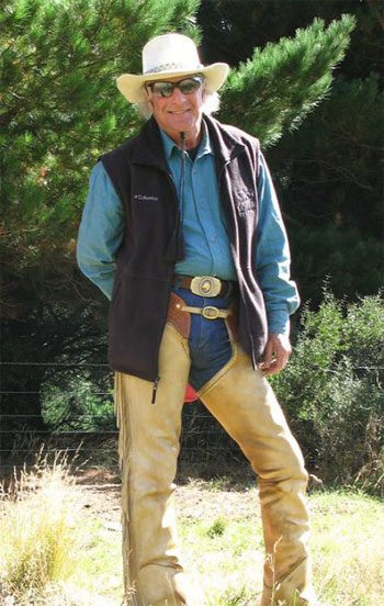 """Frank Levinson is known at """"the Maui Horse Whisperer""""."""
