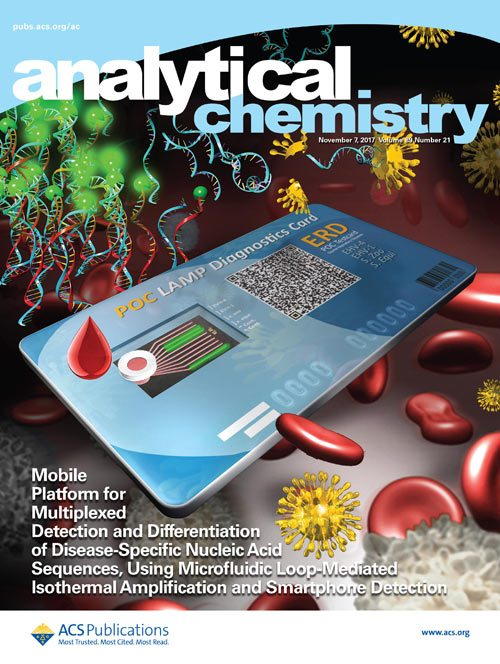 The mobile platform for disease detection made the cover of the November 7 issue of Analytical Chemistry.