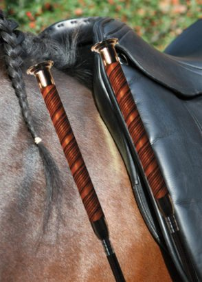 The angle of this saddle is the same as the shoulder angle of the horse which is desirable.