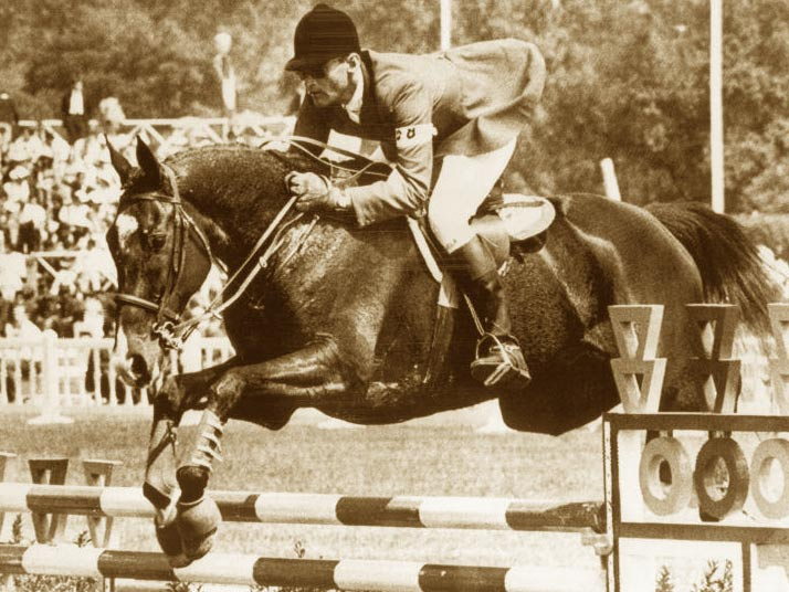 Bill Steinkraus and Snowbound at the 1968 Olympic Games in Mexico City, where they won gold for the USA.